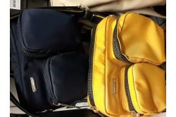 Monilokeroinen laukku, Keltainen, Karen By Simonsen